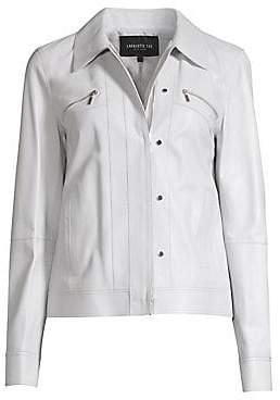 Lafayette 148 New York Women's Kesha Leather Jacket