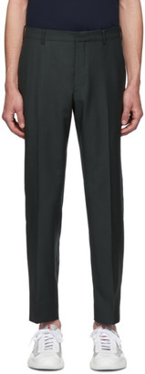 Prada Green Wool Trousers