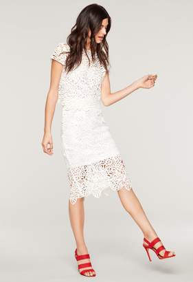 Milly Lace Classic Midi Skirt
