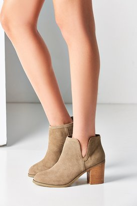 Urban Outfitters Maude Suede Ankle Boot $89 thestylecure.com