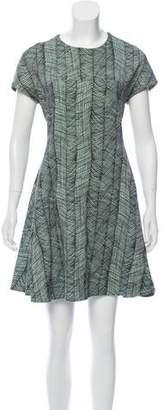 Kenzo Printed Flare Dress