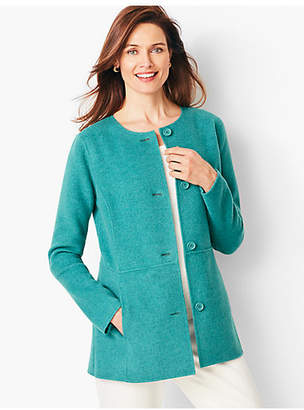 Talbots Double-Face Wool Jacket