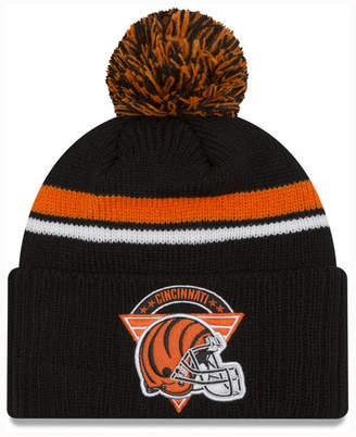 New Era Cincinnati Bengals Diamond Stacker Knit Hat