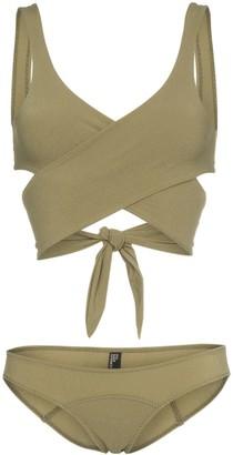 Lisa Marie Fernandez Wrap-around tie bikini
