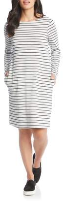 Karen Kane Stripe French Terry Dress