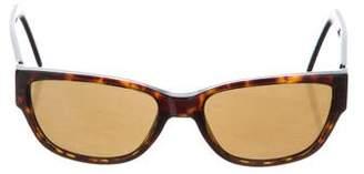 Salvatore Ferragamo Narrow Gradient Sunglasses