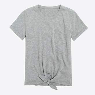 J.Crew Factory Tie-waist pocket T-shirt