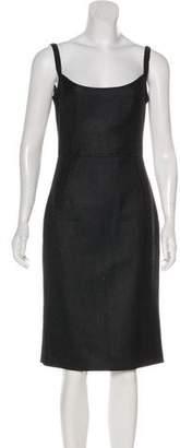 Dolce & Gabbana Herringbone Knee-Length Dress