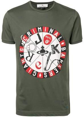 Vivienne Westwood joker printed T-shirt