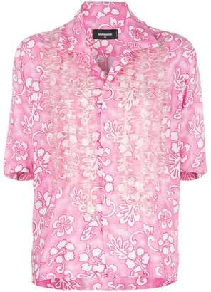 DSQUARED2 Hawaiian print shirt