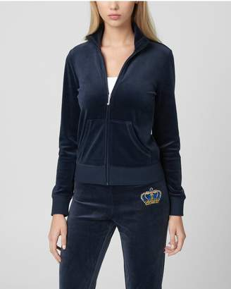 Juicy Couture DRIPPING JUICY SEQUIN VELOUR FAIRFAX JKT