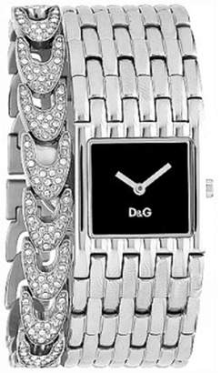 Dolce & Gabbana Women's Waterfall DW0093 Silver Stainless-Steel Quartz Watch with Dial