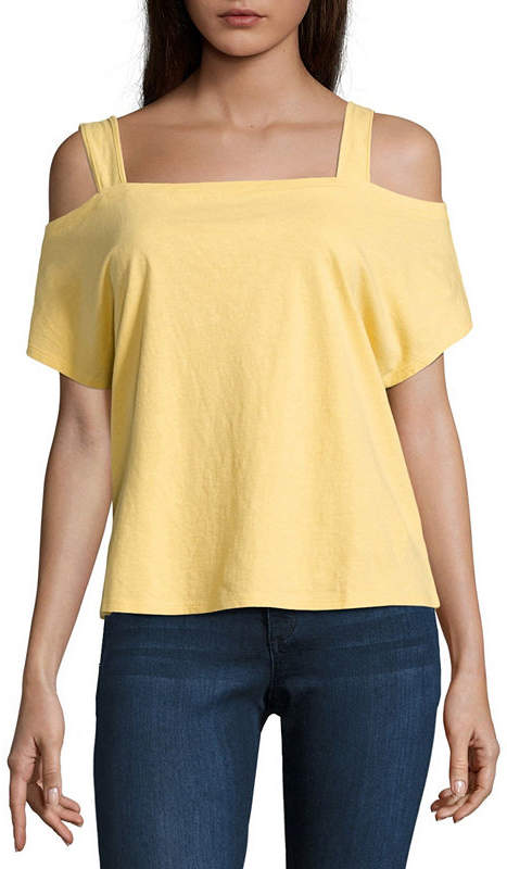 BUFFALO JEANS i jeans by Buffalo Cold Shoulder Top