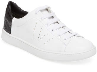 Vince Varin Leather Low Top Sneaker