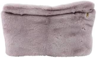 Derek Lam Purple Mink Clutch Bag