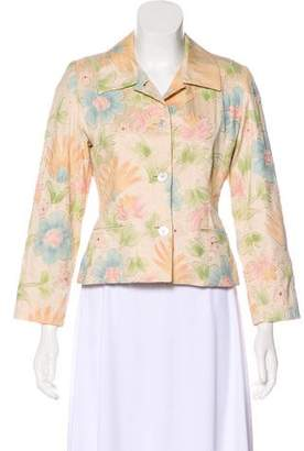 Burberry Embroidered Silk Jacket