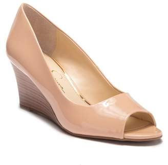 Jessica Simpson Beige Wedges Shopstyle