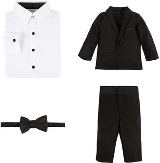 Andy & Evan Boys' 4Pc Tuxedo Suit Set