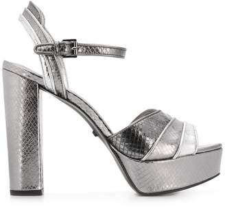 MICHAEL Michael Kors textured platform sandals