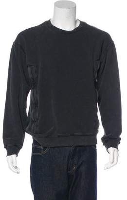 RtA Denim Distressed Sweatshirt