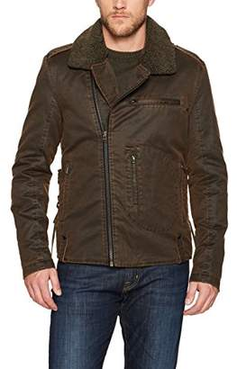 William Rast Men's Westwood Moto Jacket