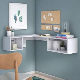 Orren Ellis Chaves Wall Mount Corner Desk