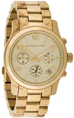 Michael Kors Runway Chronograph Watch $125 thestylecure.com