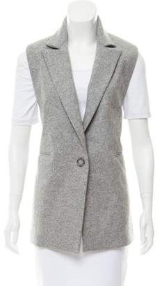 ATEA OCEANIE Notched-Lapel Wool Vest
