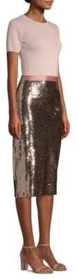 Sachin + Babi Rori Knit Sequin-Skirt Dress