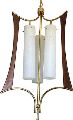 One Kings Lane Vintage Danish Modern Chandelier - C the Light Interiors