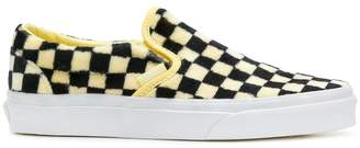 Vans furry checked sneakers