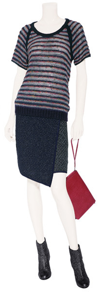 Rag and Bone Rag & Bone Navy/Multi Skirt