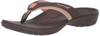 Powerstep Women's Fusion Flip-Flop Sandals - Orthotic Sandal with Built-In Arch Support for Plantar Fasciitis and Flat Feet