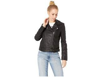 BB Dakota Walkin in Memphis Vegan Leather Jacket