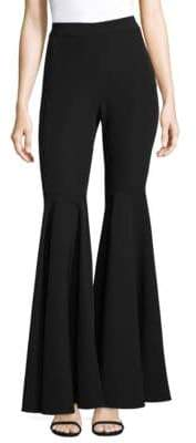 Milly Italian Cady Flared Pants