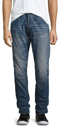 G-Star 5620 3D Tapered Jeans, Blue $170 thestylecure.com