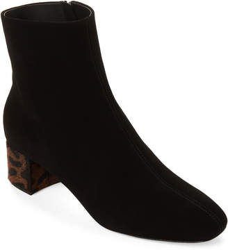 Giuseppe Zanotti Black Quad Suede Ankle Booties