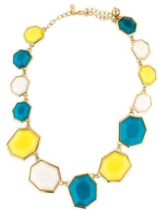 Kate Spade Kate Spade New York Crystal Geometric Collar Necklace