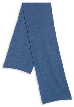 Saks Fifth Avenue Diamond Stitch Speckled Cashmere Scarf