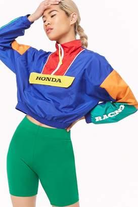 Forever 21 Honda Colorblock Anorak