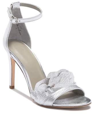Joie Abigail Ruffled Leather High Heel Sandal