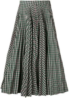 Calvin Klein tartan full skirt