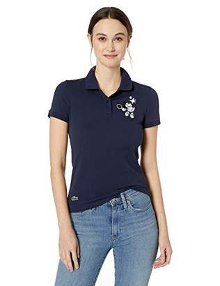 Lacoste Women's Short Sleeve Slim FIT Disney Polo