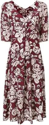 Max Mara 'S rose print dress