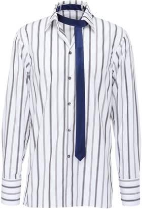Delada Stripe oversized unisex shirt