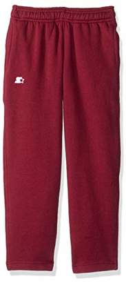 Starter Girls' Open-Bottom Sweatpants with Pockets