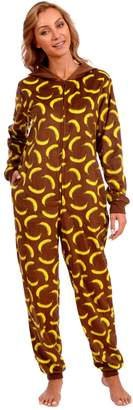 Body Candy Loungewear Women's Adult Animal Onesie Hooded Huggable Fleece