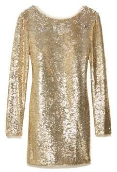 Rachel Zoe Racko Sequined Mini Dress