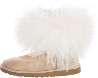 UGGUGG Australia Suede Round-Toe Ankle Boots