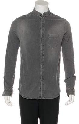 Pierre Balmain Chambray Button-Up Shirt